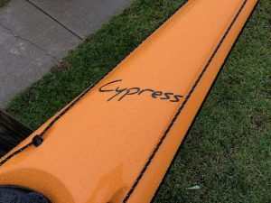 Current Designs Cypress –  Fiberglass – Mango over Smoke – Blem