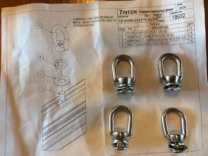 Trailer Option – Triton Trailers Eye Nut Tie Down Kit