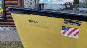 Wenonah Aurora – Aramid Ultralight, Black Trim, Hung Web Seats – Blem