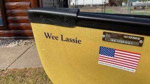 Wenonah Wee Lassie – 10'6″ Aramid Special, Black Trim, Floor Mounted  Seat – Blem