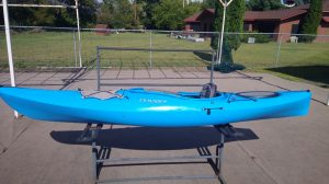 Dagger Axis 12.0 – Crossover Multiwater River Kayak – Used – Lime or Blue