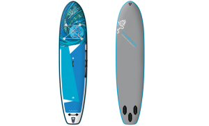 Starboard iGO 11'2 Tikhine Wave Deluxe Single Chamber Inflatable Stand Up Paddle Board – Includes Board, Pump, Leash & Bag