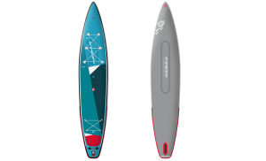 Starboard Touring L 14′ Zen Double Chamber Inflatable Stand Up Paddle Board – Includes Board, Pump, Leash & Bag