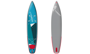 Starboard Touring 12'6 Zen Single Chamber Inflatable Stand Up Paddle Board with Paddle – Includes Board, Pump, Leash & Bag
