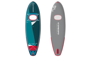 Starboard Vision 11'2 Inflatable Paddle Board – Includes Board, Pump, Leash & Bag