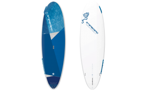 Starboard 10′ Wide Ride Whopper Stand Up Paddle Board with Lite Tech Hardboard Construction