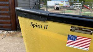 Wenonah Spirit II – Aramid Ultralight, Black Trim, Hung Web Seats – Blem