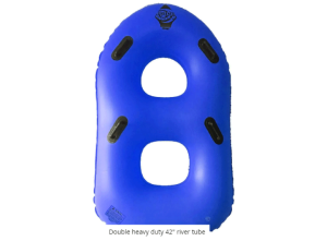 Inflatable – River Tube – Heavy Duty 2-Person 42″ – Blue