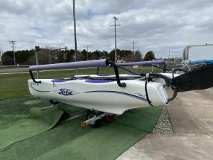 Used/Like New! 2001 Hobie Cat Wave Sailboat with Backrests