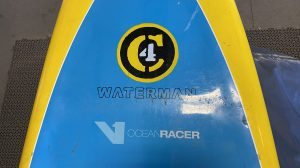 C4 Waterman Stand Up Paddle Board – V1 Ocean Racer 14′ – USED