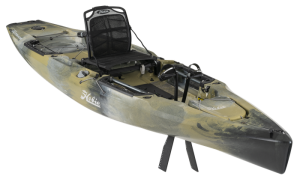 Hobie Mirage Outback Camo Series Fishing Kayak – Powered by MirageDrive 180 & Kick-Up Fins