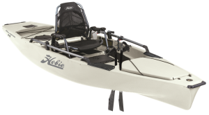 Hobie MirageDrive Pro Angler 14 Fishing Kayak with Kick-Up Fins