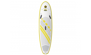 C4 iSUP XL 10'0  10′ x 33″ x 5″ Inflatable Stand Up Paddle Board