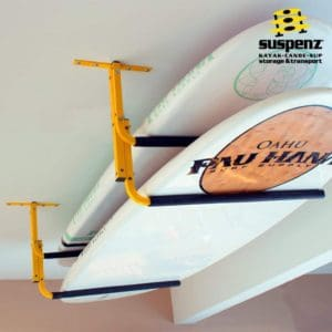 Suspenz Ceiling Rack – Kayak/SUP