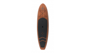 Greyduck Coast 10'8″ Wood Stand Up Paddle Board and Adjustable Paddle