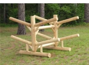 Rack – Four Place Log Rack