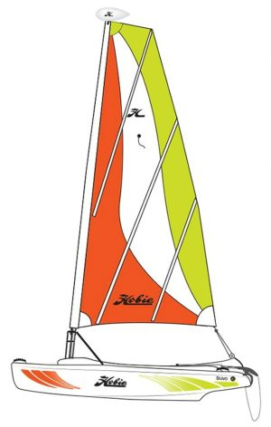 Hobie Cat Bravo Sail Boat – Martinique – No longer available from Hobie – 2020 was last year made.