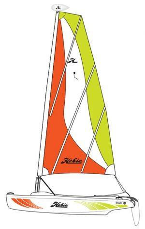 Hobie Cat Bravo Sail Boat – Martinique – 1 – 2020 Model Left – No longer available from Hobie.  Was our best seller.