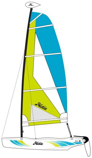 Hobie Cat Wave Sail Boat – Martinique