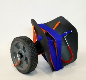 Kayak Cart – 7″ Rubber Tread Wheels