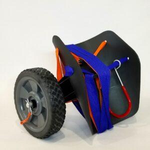 Cart – Kayak Cart – 7″ Rubber Tread Wheels