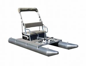A – Paddle King PK3000 – 2-Person Paddle Boat Package