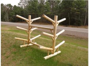 Rack – Six Place Log Rack
