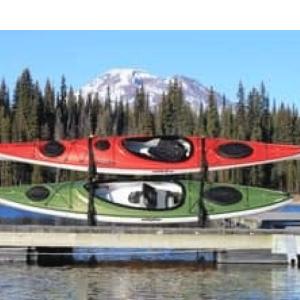Docks – Accessories – Suspenz – Over Water Two-Boat Dock Frame