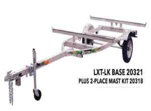 Trailer – Triton LXT-LK 2 Place Canoe/Kayak/ SUP Trailer