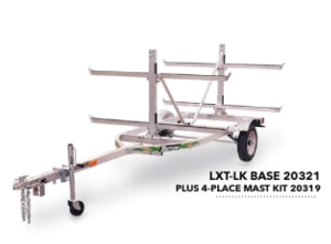 Trailer – Triton LXT-LK 4 Place Canoe/Kayak/SUP Trailer