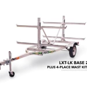 Trailer – Triton LXT-LK 4 Place Canoe/Kayak/SUP Trailer