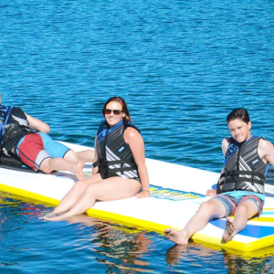 Water Mat – Water Whoosh Floating Water Mat Inflatable Activity Platform – 10′, 15′ and 20′