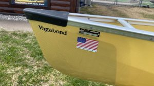 Wenonah Vagabond – Aramid Ultralight, Silver Trim, Center Adjustable Hung Web Seat – Blem